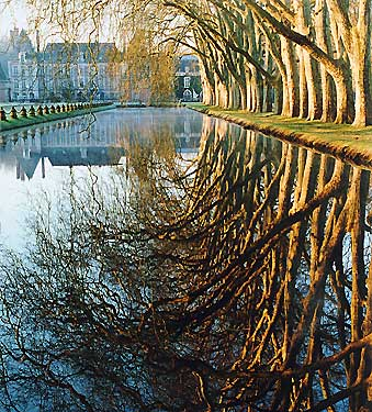 le parc et le château de Courances - photo : Jean Rond