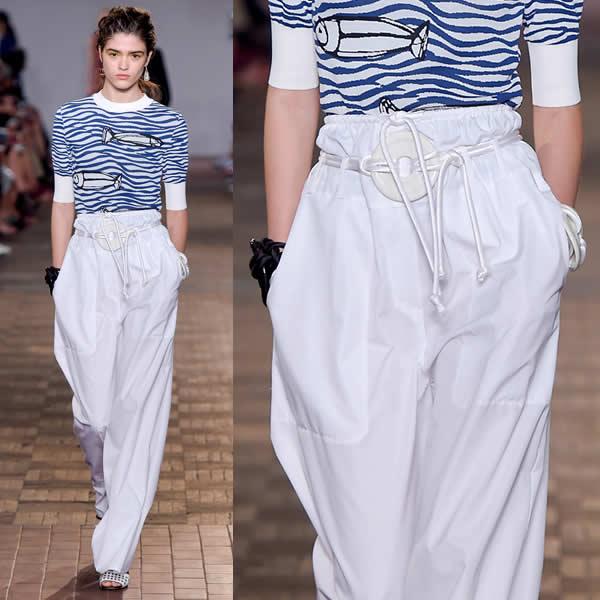 Tendance été 2017 : le pantalon extra large