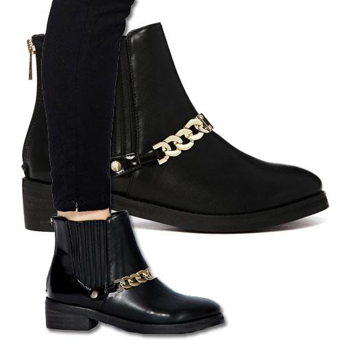 Idée clé : les boots à chaîne maillons