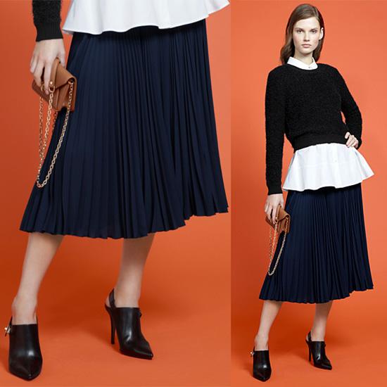 Tendance-clé de l'automne-hiver 2015-2016 : la jupe plissée