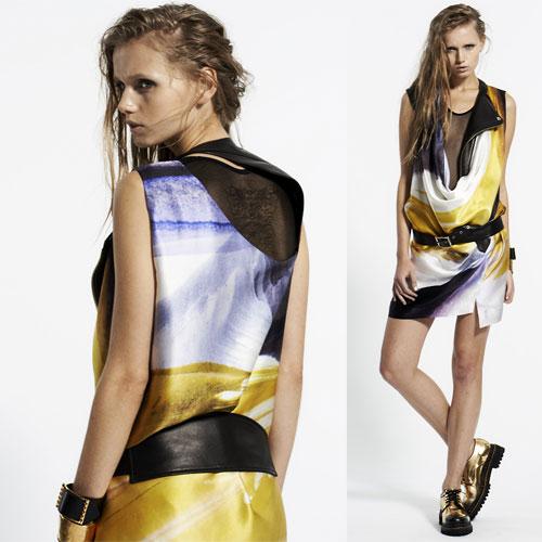 Tendance clé de la mode printemps-été 2013 : l'imprimé foulard