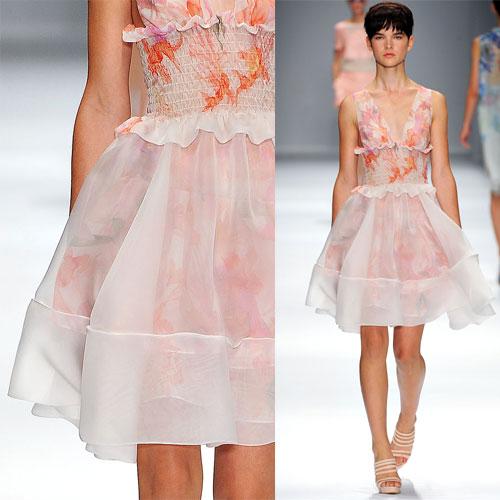 Tendance clé de la mode printemps-été 2013 : la transparence