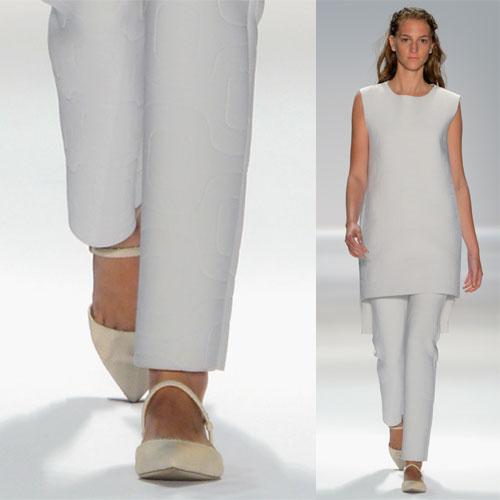 Tendance clé de la mode printemps-été 2013 : les ballerines