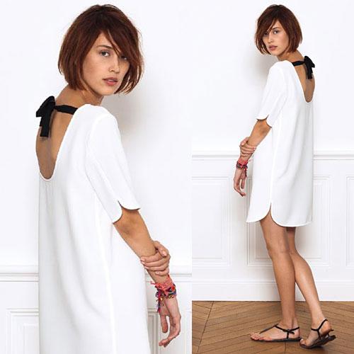 Tendance clé de la mode printemps-été 2013 : le blanc