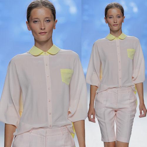 Tendance clé de la mode printemps-été 2013 : les tons pastels