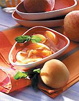 soupe glacéee abricots pêche