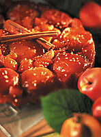 tarte renversée aux abricots