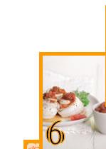 recette : papillote de sole et chutney de pamplemousse de Floride