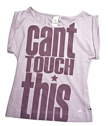 T-shirt Fuse slogan Adidas