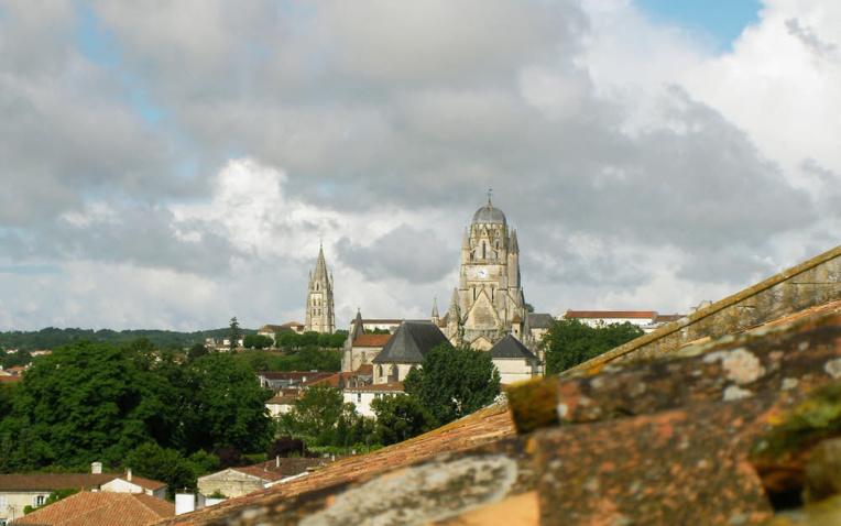 Saintes depuis le clocher de l'Abbaye aux Dames © ABCfeminin.com.