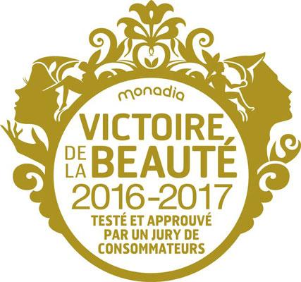 Logo Victoire de la Beauté 2016-2017