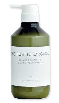 Shampoo THE PUBLIC ORGANIC - Victoires de la Beauté 2016-2017.