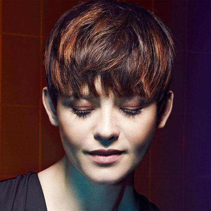 Coiffure cheveux courts - Jean-Louis DAVID - tendances automne-hiver 2016-2017.