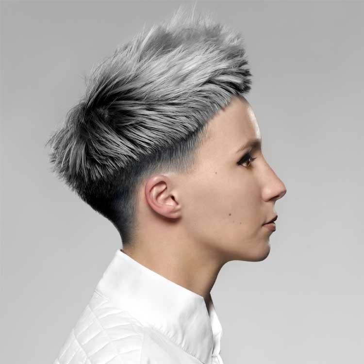 Coiffure cheveux courts - Eric LETURGIE - Tendances automne-hiver 2016-2017.