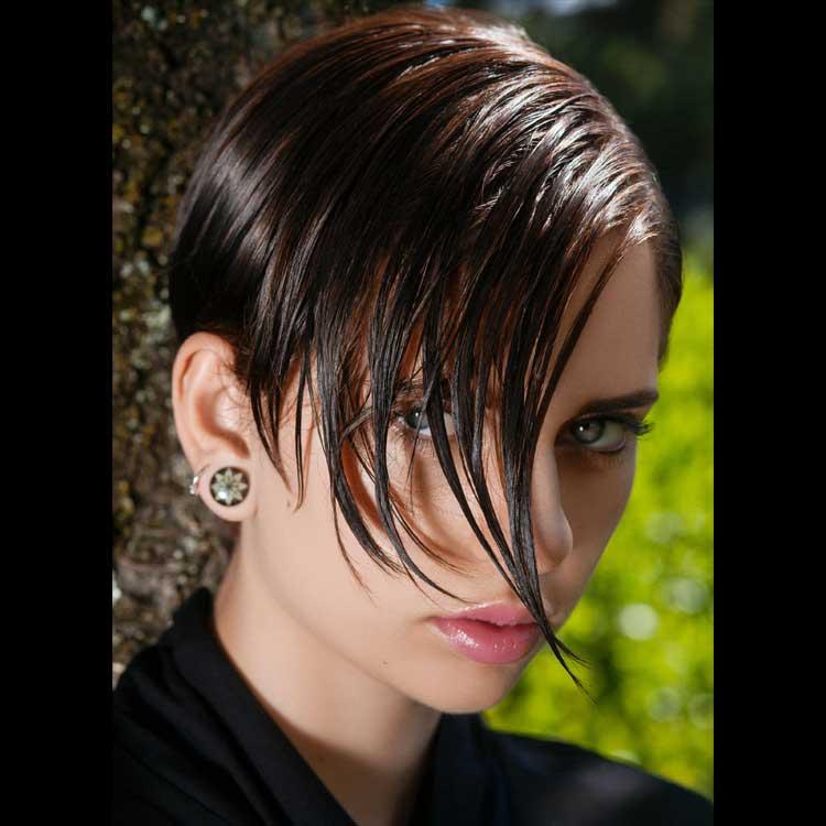 Coiffure cheveux courts - Christine MARGOSSIAN - Tendances automne-hiver 2016-2017.