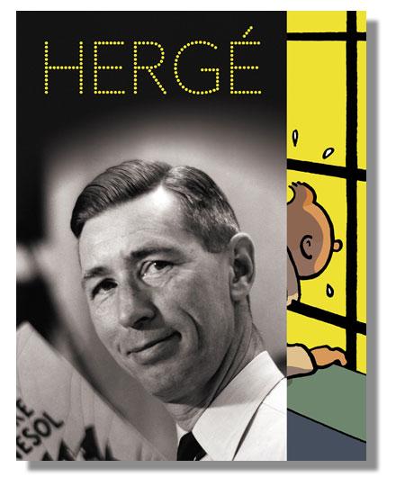 Catalogue de l'exposition Hergé au Grand Palais (2016)