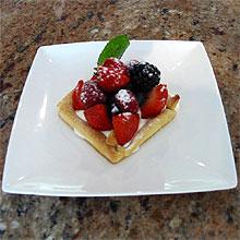 Sablé aux fruits rouges (D.R.)