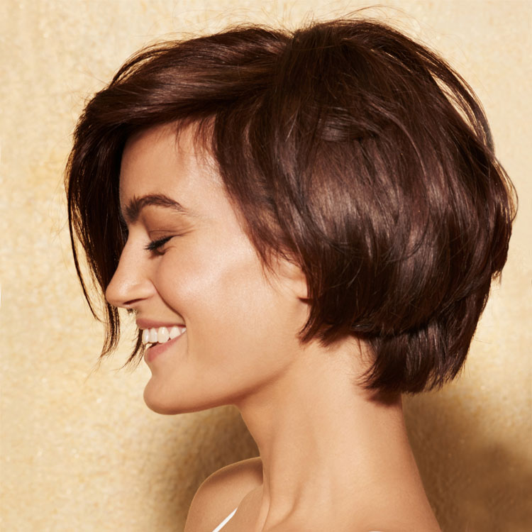 Coupe coiffure mi-longue - Franck PROVOST - Tendances printemps-été 2017.
