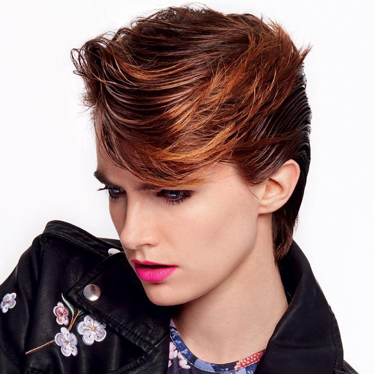 Coiffure cheveux courts - SHAMPOO Expert - Tendances printemps-été 2017.
