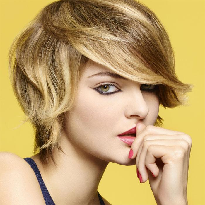 Coiffure cheveux courts - Camille ALBANE - Tendances printemps-été 2017.