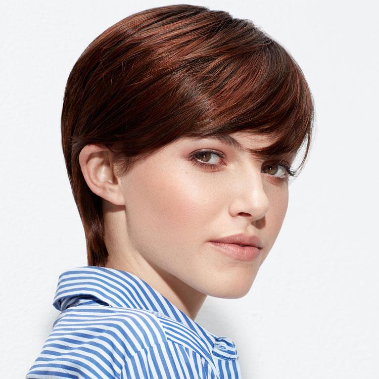 Coiffure cheveux courts - INTERMEDE - Tendances printemps-été 2017.