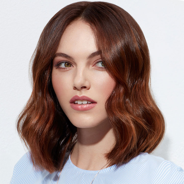 Coupe coiffure mi-longue INTERMEDE / Mid-length haircut - Tendances spring-summer 2017.