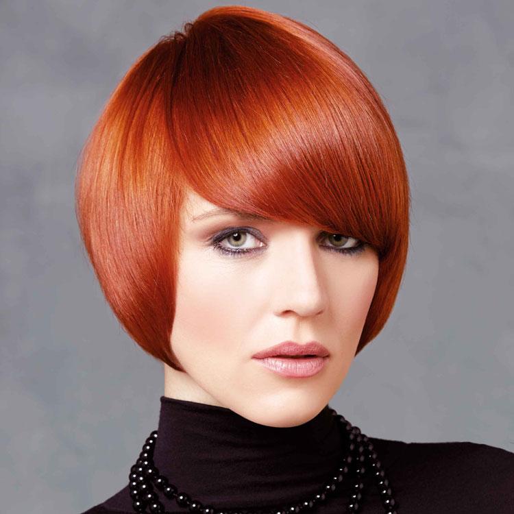 Coupe coiffure mi-longue INTERCOIFFURE - Mid-length haircut - Tendances spring-summer 2017.