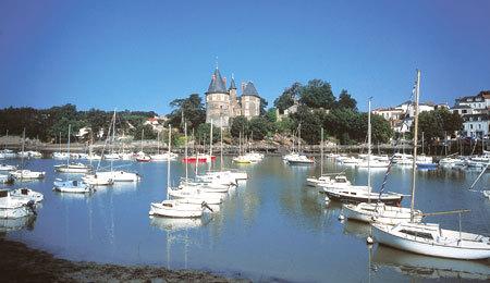 le Château et le port de Pornic