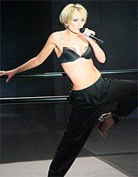 Patricia Kaas sur la scène de Kabaret