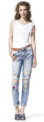 Jeans grunge LIU JO