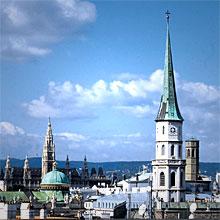 Vue panoramique au-dessus des toits de Vienne © WienTourismus / Claudio Alessandri