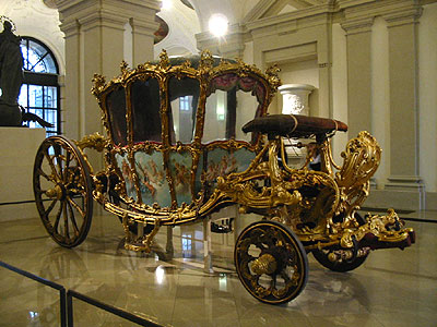 Le 'Carosse doré' du Musée du Liechtenstein (D.R.)
