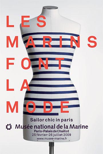 Les marins font la mode © S. Dondain – A. Fux / MNM