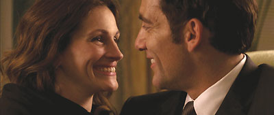 Julia Roberts et Clive Owen, dans Duplicity de Tony Gilroy