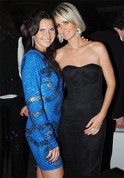 Cécile Angeli et Laetitia Hallyday © Franck Provost – Cannes 2009.