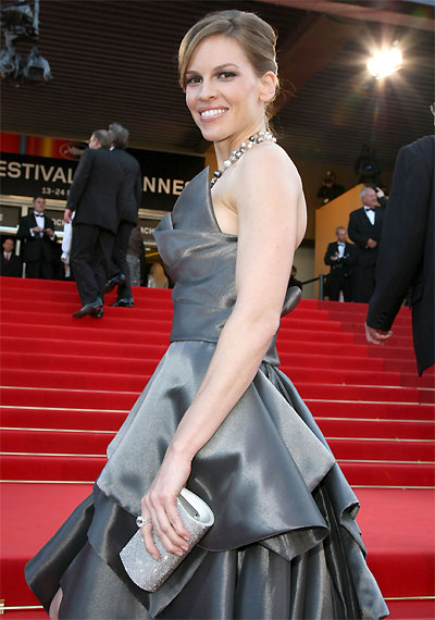 Hillary Swank © Franck Provost – Cannes 2009.