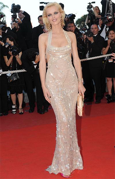 Eva Herzigova © Franck Provost – Cannes 2009.