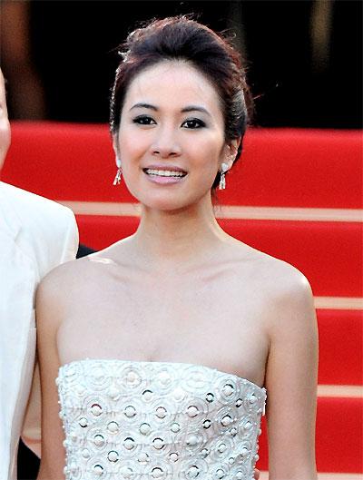 Michelle Ye © Franck Provost – Cannes 2009.