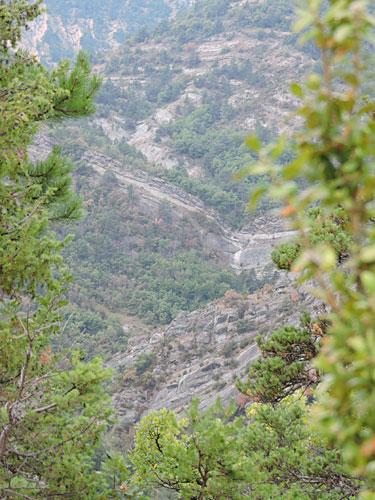Photo : paysage de Haute-Provence © ABCfeminin.com.