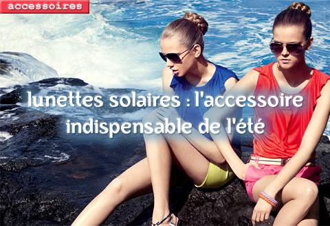 les lunettes solaires de l'été 2009 - visuel Mango