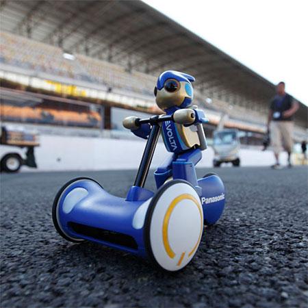 le robot Evolta de Panasonic, entré au Guinness Mondial des records