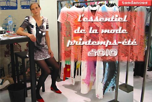 tendances mode printemps-été 2010