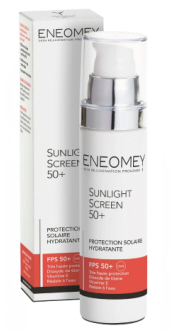 Protection solaire hydratante Sunlight Screen 50+  ENEOMEY.