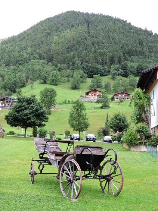 Les alentours du Sporthotel Beck à Brand dans le Vorarlberg. © ABCfeminin.com.
