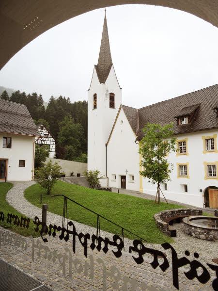 Le renouveau architectural du prieuré St. Gerold © ABCfeminin.com.