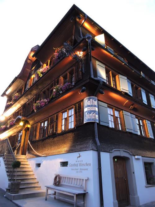 L'hôtel Gasthof Hirschen à Bregenzerwald © ABCfeminin.com.