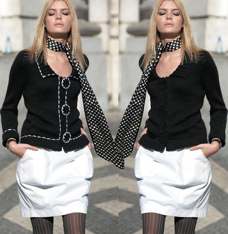 Tricot gratuit expliqué : Veste-gilet au point jersey en 2 versions à tricoter © Création Phildar.