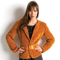 Veste laine tricoter pour femme