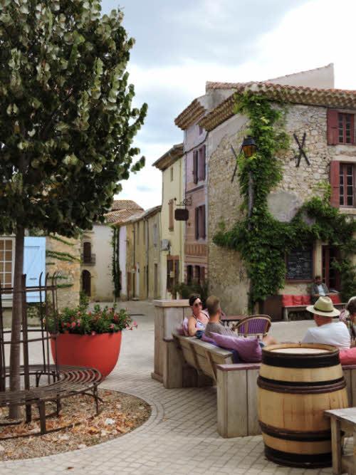 Château Castigno à Assignan dans le Minervois © ABCfeminin.com.