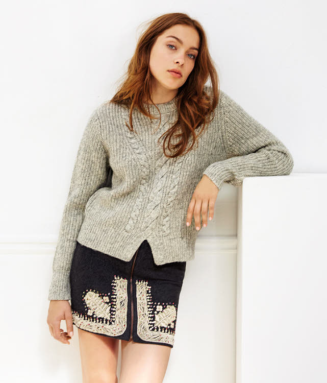 Tendance MAILLE : pull EKYOG - Automne-Hiver 2017-2018
